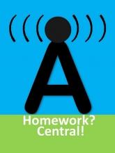 Homework Central logo.