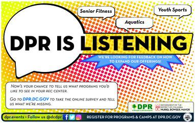DPR is listening